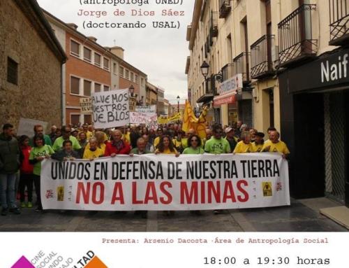 Ponencia sobre extractivismo en la Universidad de Salamanca