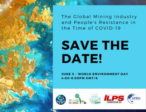 Webinar internacional sobre minería el 5 de junio Día del Medio Ambiente