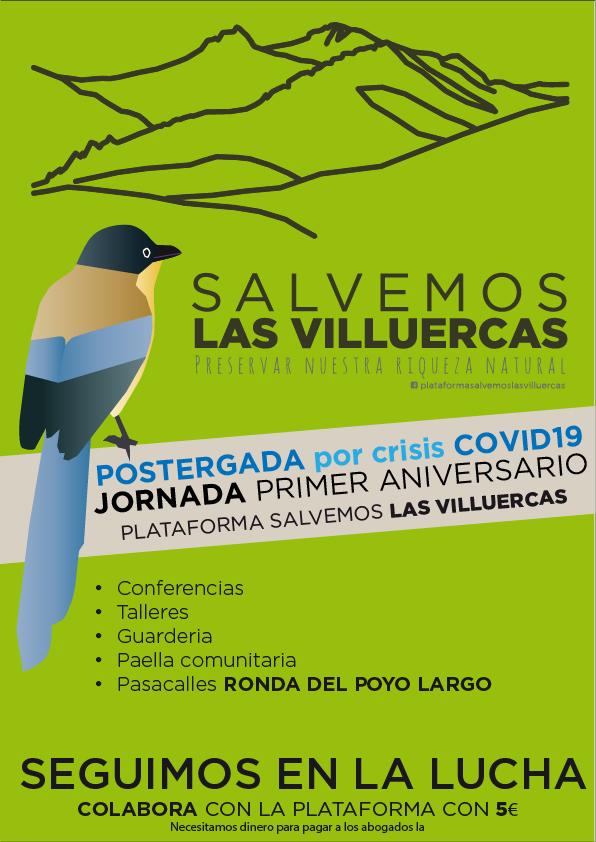 poster Salvemos Las Villuercas