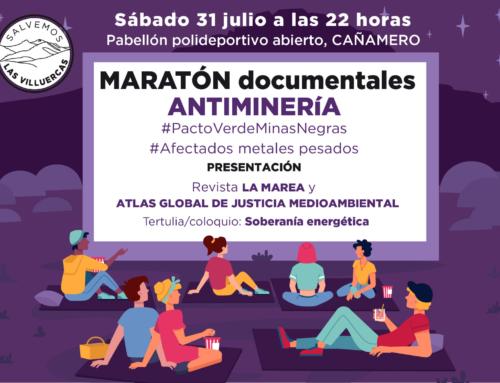 Salvemos Las Villuercas organiza un Maratón de documentales antiminería
